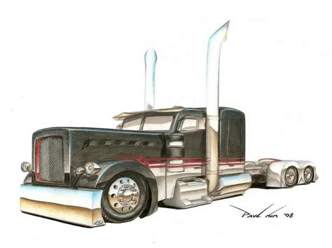 hotrod peterbilt 379 by seawolfpaul on deviantart