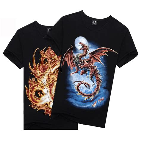 Tees Be To Animals fashion 3d graphic o neck animal t shirt casual