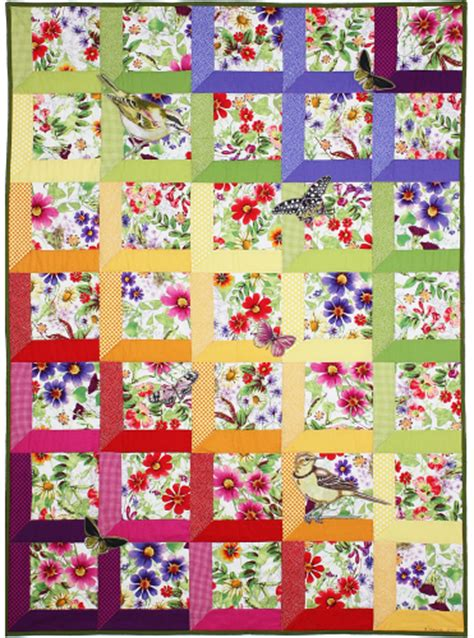 Free Quilt Fabric by Quilt Inspiration Free Pattern Day Attic Windows Quilts