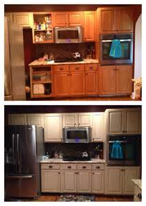 What Finish Paint For Kitchen Cabinets Cabinet Refinish Using General Finishes Linen Milk Paint And Brown Glaze With A Satin