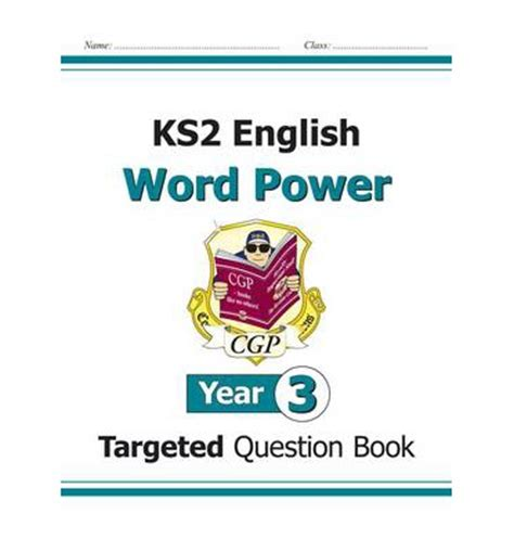 libro new ks2 english targeted ks2 english targeted question book word power year 3