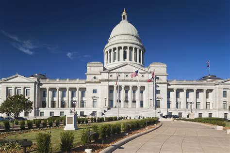 Visiting the Arkansas State Capitol Building