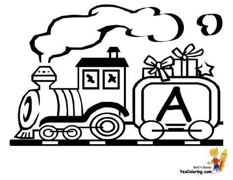 Abc Train Coloring Page | abc train coloring pages coloring pages