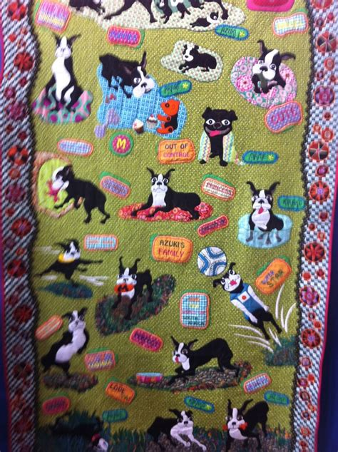 Boston Quilt by 17 Best Images About Boston Terrier Quilts On