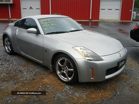 nissan coupe 2005 2005 nissan 350z touring coupe 2 door 3 5l
