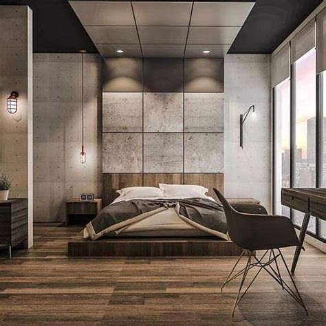 gorgeous industrial design bedroom ideas