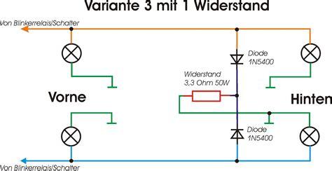 Led Blinker Motorrad Schaltplan by Schaltplan Led Blinker