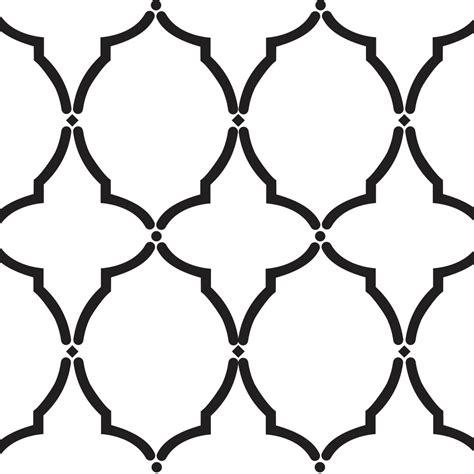 stencil designs moroccan template design stencil