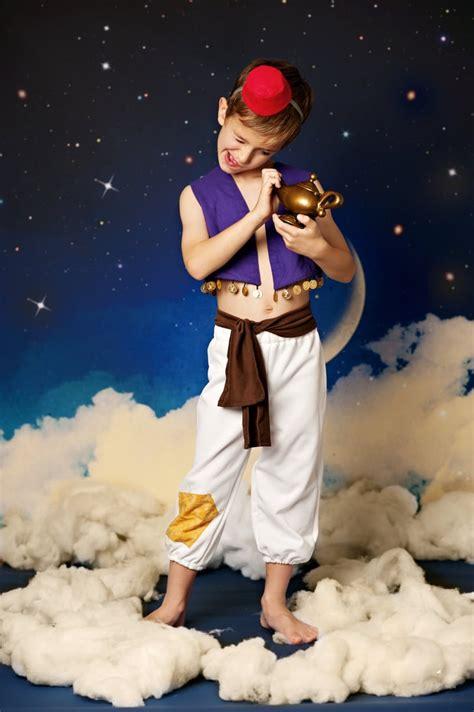 aladdin diy disney costumes  kids popsugar family