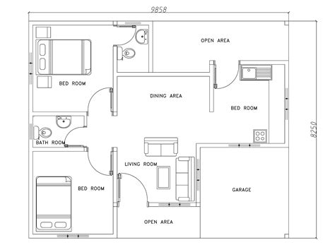modern house floor plans free modern house plans dwg free escortsea