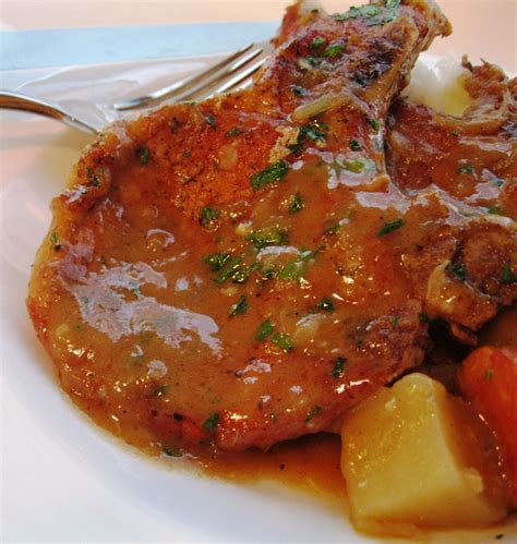 smothered lamb chops smothered pork chops emerils com