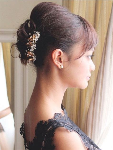 Wedding Hair Up Styles With Fringe by 40 Best Wedding Hairstyles That Make You Say Wow