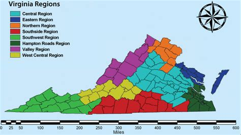 different virgina regions of virginia