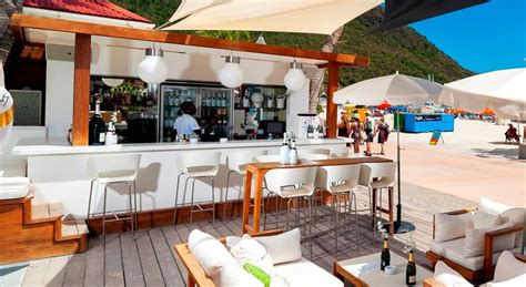 ocean house beach bar sea to fork dining at ocean lounge philipsburg st maarten