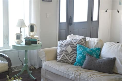 Home Decor Teal Summer Home Tour A Coastal And Rustic Bold Mix Our House Now A Home