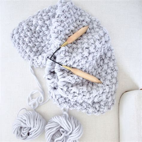 blanket knitting needles free chunky wool blanket pattern