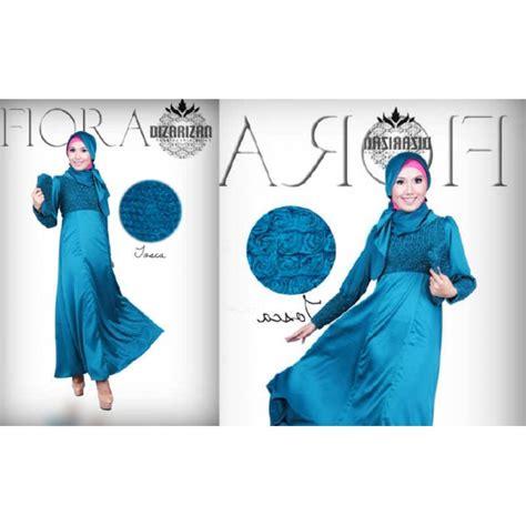 Adreena Dress By Gda Dizarizan Fiora Tosca Baju Muslim Gamis Modern