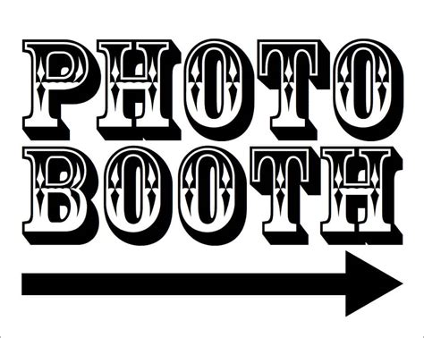 Free Photo Booth Printables For Your Wedding Photo Booth Rocks Free Printable Photo Booth Sign Template