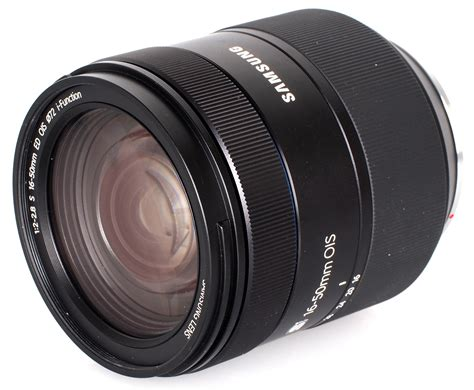Samsung F2 samsung s 16 50mm f 2 2 8 ed ois lens review