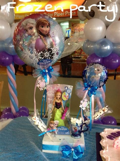 frozen centerpiece frozen party pinterest frozen