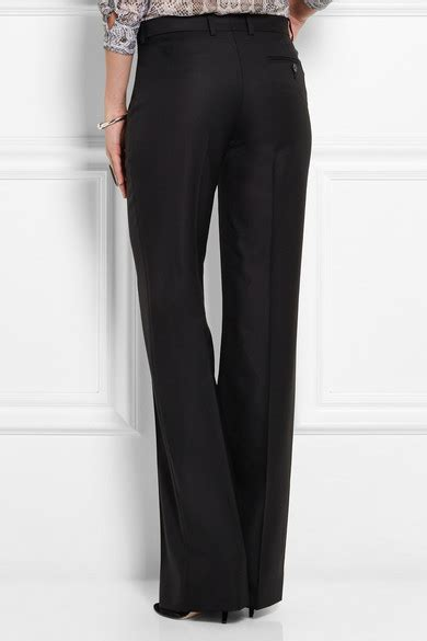 Trousers 100 At The Net A Porter Sale by Joseph Rocker 100 Wool Twill Leg