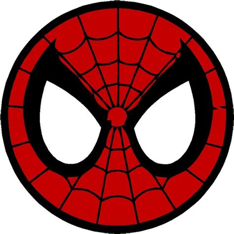 Spider Man clipart spiderman logo   Pencil and in color
