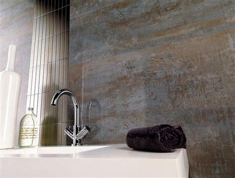 Porcelanosa Shine Aluminio large format wall tile. Home