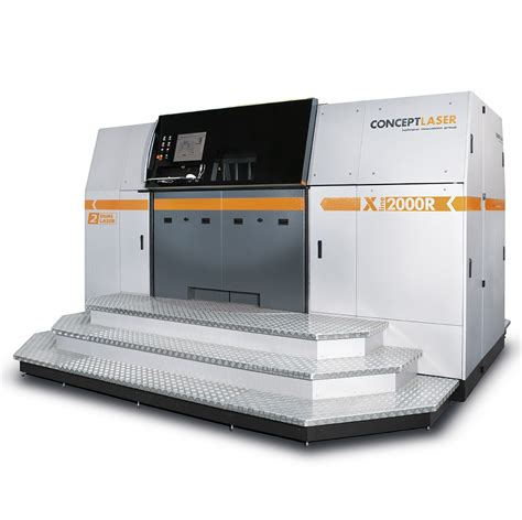 Printer 3d Metal concept laser beats own record with largest laser metal 3d printer