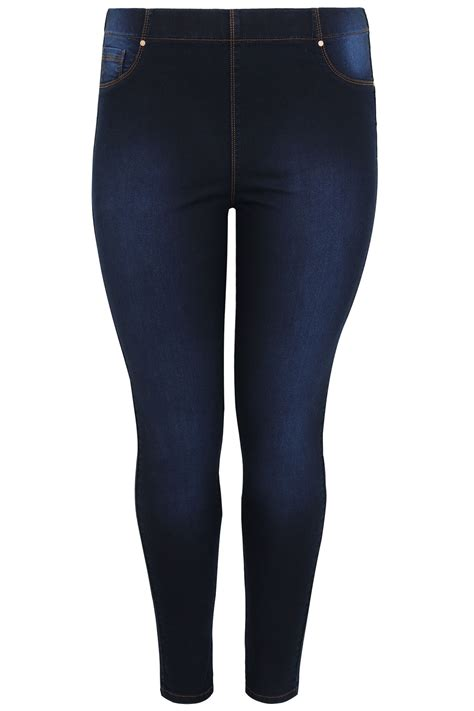 best 32 in tv for 200 indigo blue pull on lola jeggings plus size 16 to 32