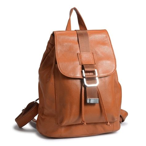 S Leather Backpack Brown leather backpack brown leather rucksack backpack