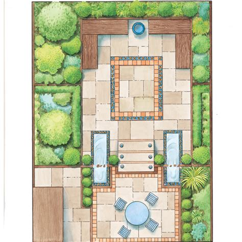 home garden design layout garden designs for a small garden ideal home