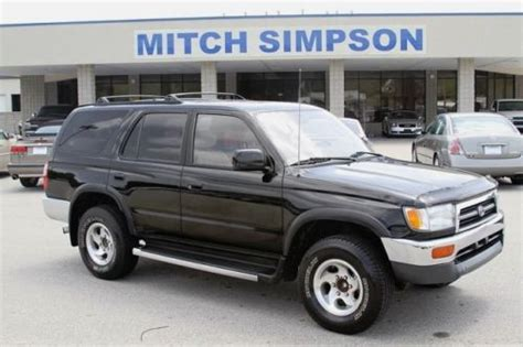 automobile air conditioning repair 2001 toyota 4runner navigation system purchase used 1998 toyota 4runner sr5 automatic 2wd good vehicle no reserve in cleveland