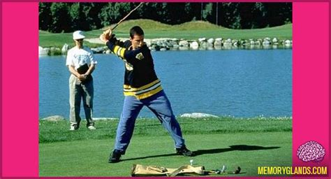 happy gilmore swing the happy gilmore swing memory glands funny nostalgic