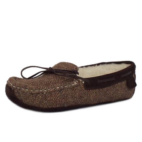tweed slippers chatham harris tweed slippers harris brown mozimo