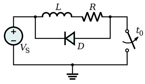 diodes on relays flyback diode