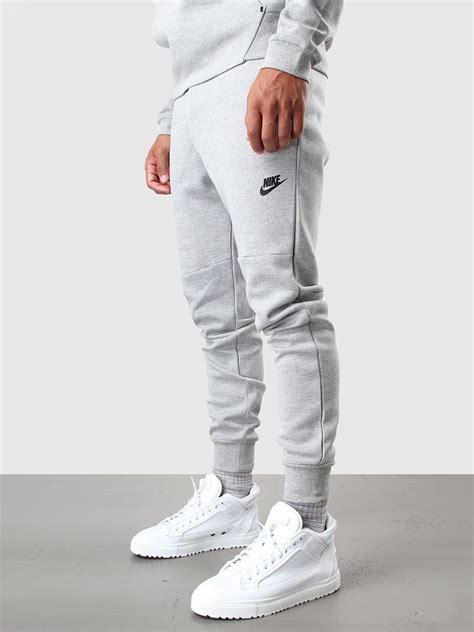 light grey nike sweatpants nike tech fleece pant 1mm dark grey heather medium grey