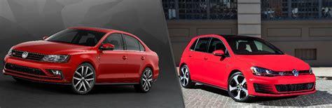 Features of 2016 Volkswagen Jetta GLI vs Golf GTI