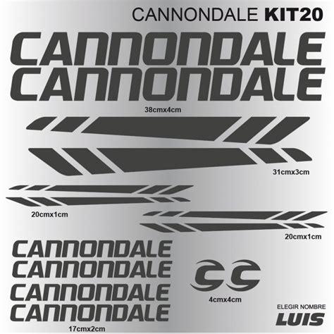 Fahrrad Aufkleber Cannondale by Cannondale Kit20 Aufkleber F 252 R Fahrrad Vinyls