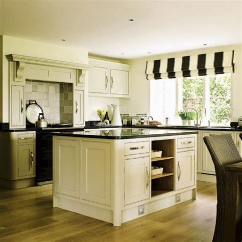 cream and black kitchen ideas modern country style colour study farrow and ball old white