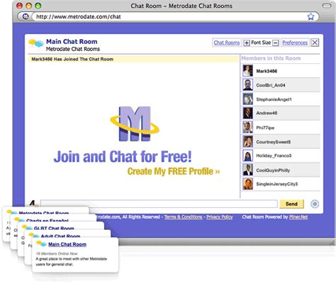 chat rooms 10 and chef in chat room