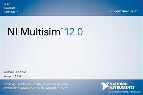 multisim windows 8