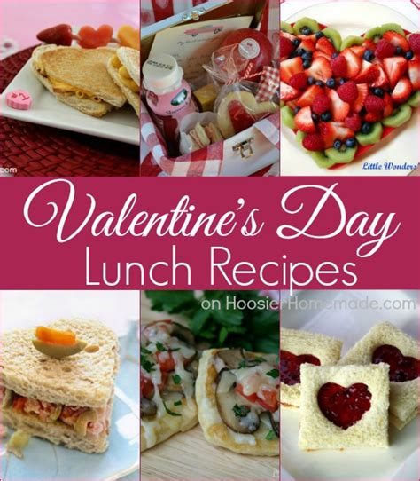 valentines lunch s day food ideas