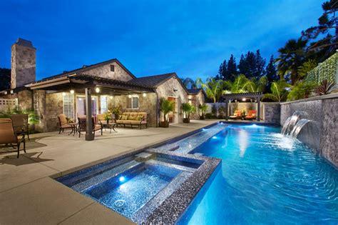 Backyard Pools Pasadena Pasadena Contemporary Front And Back Yard