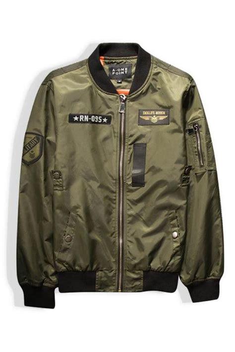 Bomber Jaket Army best 25 army bomber jacket ideas on bomber