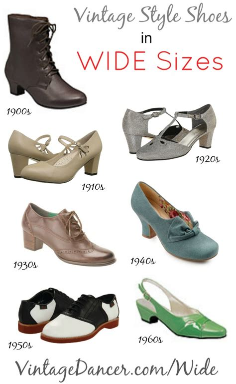 1900 shoes clothing hairstyles buy wide shoes 1920s 1930s 1940s 1950s styles