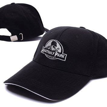 Hat Ricmerch Ric 2015 Snapback anatomy park rick and morty logo from headwear if