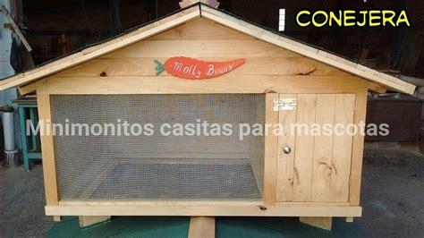 comprar conejera conejera casa para conejo casa de madera 3 000 00 en