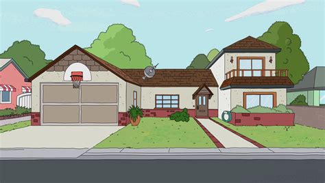 House Blue Prints by Lawnmower Dog Gallery Rick And Morty Wiki Fandom