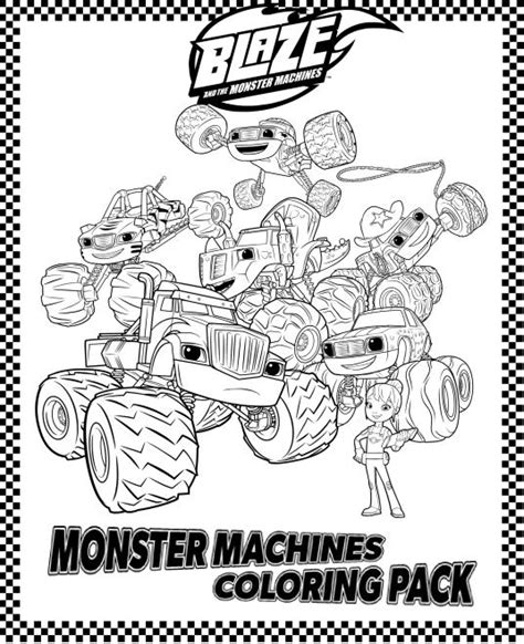 blaze coloring pages pdf blaze coloring book alltoys for