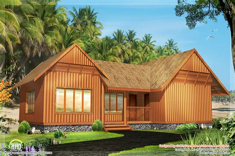 2 single floor cottage home designs house design plans